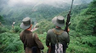 Murieron diez disidentes de las FARC en un bombardeo en Guaviare