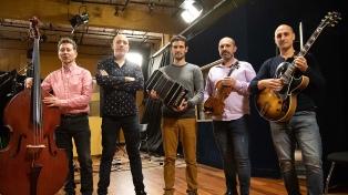 """El Quinteto Revolucionario celebra los """"100 años"""" de Piazzolla y su revolución musical"""