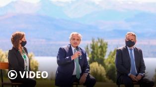 """Fernández: """"Nada quiero más en el mundo que ser el Presidente que una a los argentinos"""""""