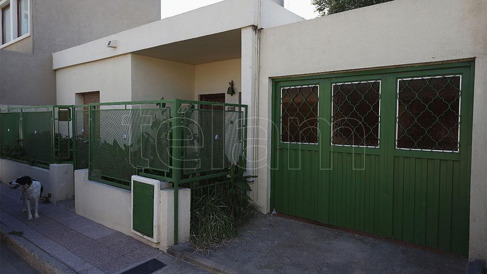 El hogar en el que vivió por muchos años Morisoli junto a su pareja, la poeta Margarita Monges.