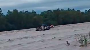 Hallan otro cuerpo y son dos los muertos por el accidente náutico de una barcaza