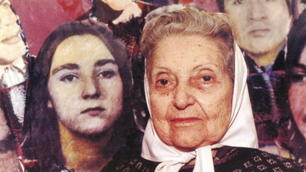 Reivindican la figura de una de las fundadoras de la Asociación Madres de Plaza de Mayo