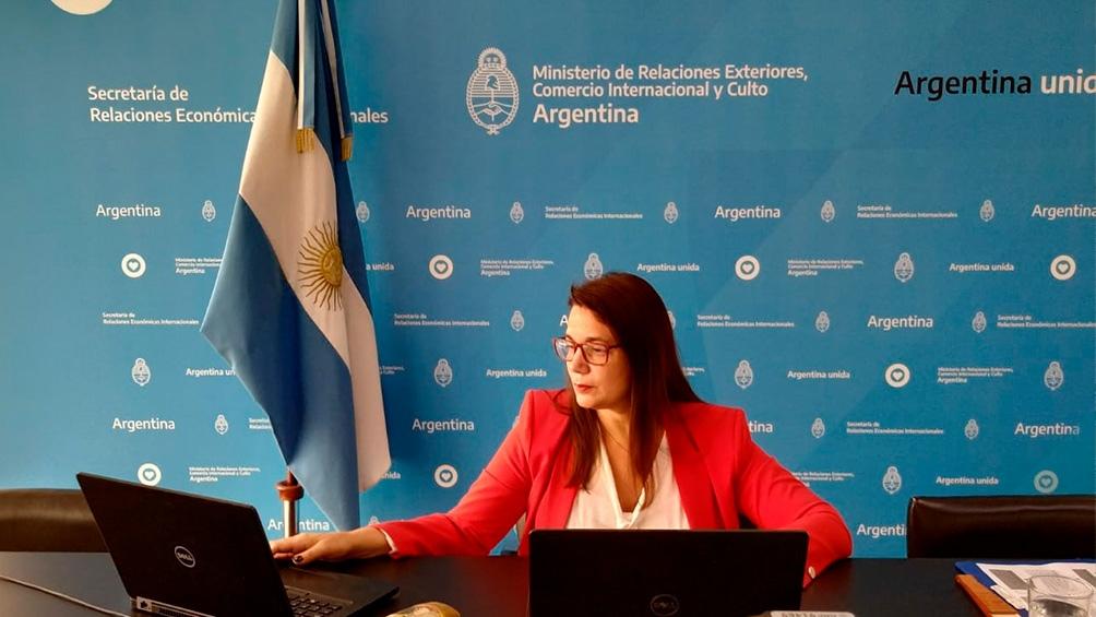 Carola Ramón, subsecretaria de Negociaciones Económicas Multilaterales y Bilaterales.