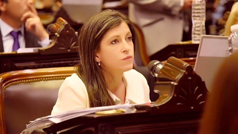 La diputada nacional Fernanda Vallejos.