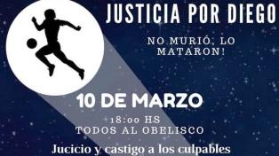 10-M: o povo maradoniano vai para as ruas pedindo justiça pelo Diego