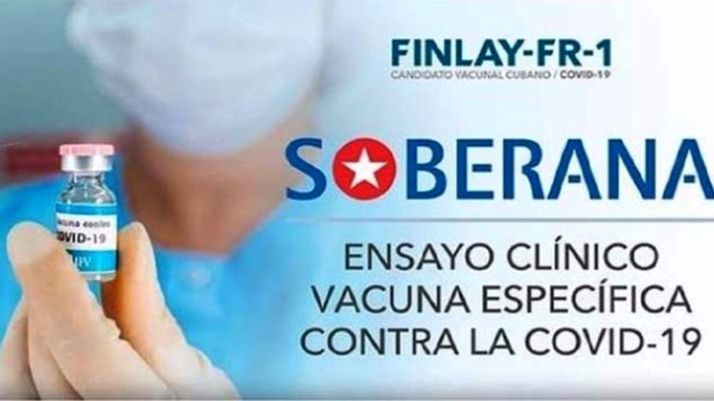 """El Instituto Finlay de Vacunas añadió que """"se inicia la captación de voluntarios en ocho municipios de La Habana""""."""