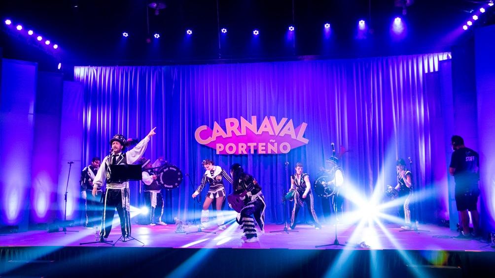 Los festejos virtuales del Carnaval 2021, en los que participaron más de 100 murgas porteñas y distintas agrupaciones.