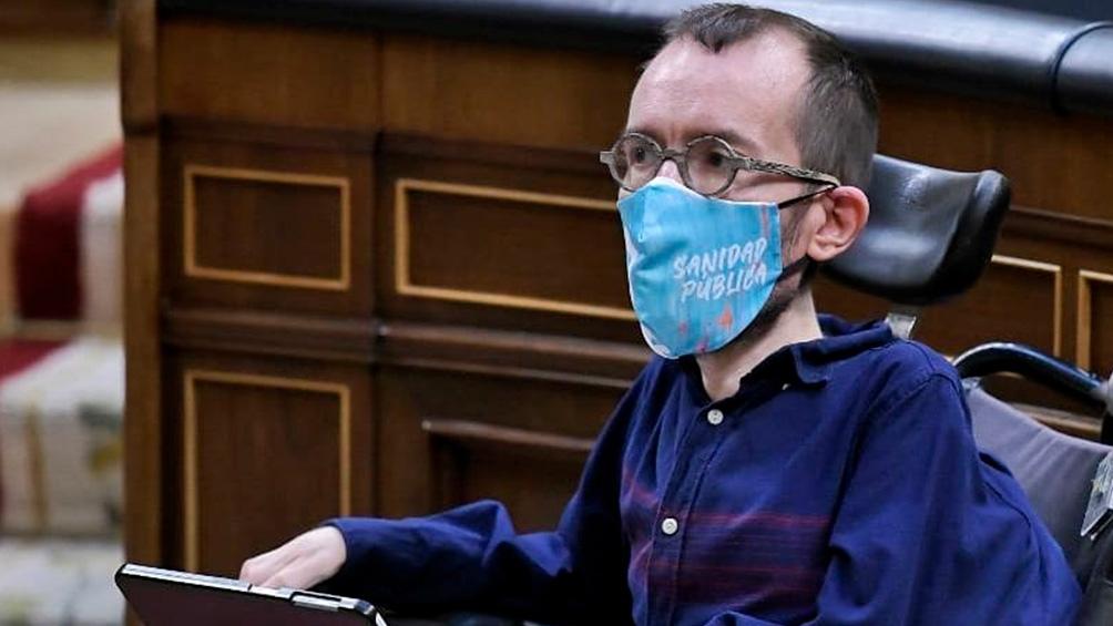 La Fiscalía del Tribunal Supremo español acordó investigar al portavoz de Unidas Podemos en el Congreso de los Diputados, Pablo Echenique.