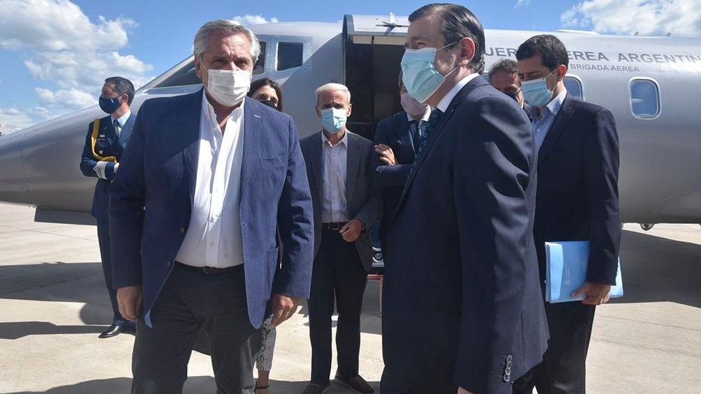 Alberto Fernández encabezó el acto de inicio de la obra hídrica del Nuevo Canal de la Patria