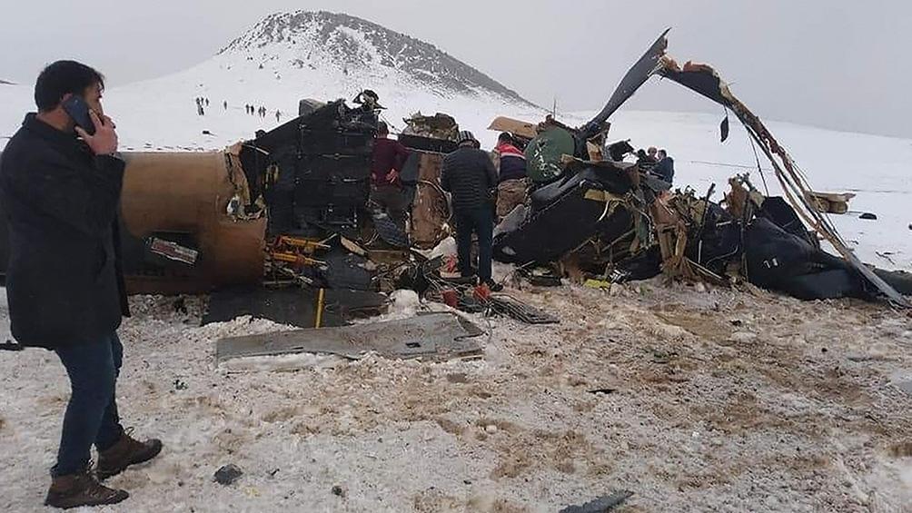 El accidente ocurrió en la región de Bitlis detalló un comunicado oficial