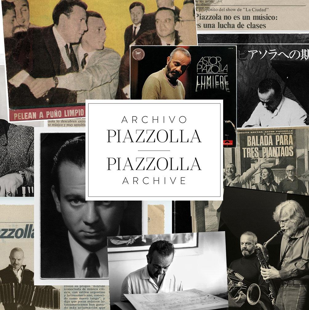 """""""Archivo PIazzolla"""" se publica en junio."""