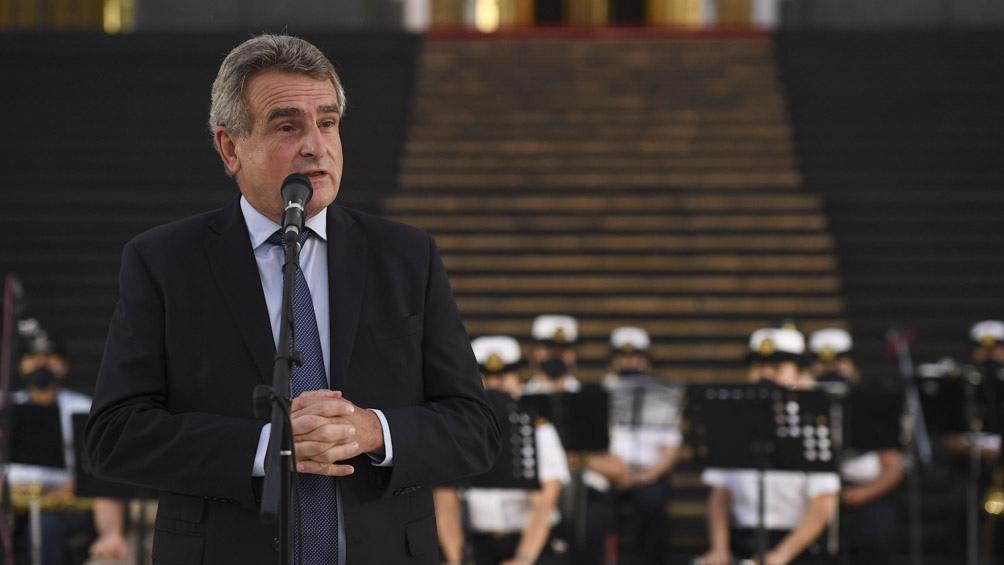 El ministro Agustín Rossi.
