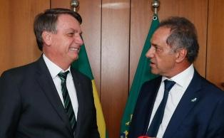 """Scioli propuso conformar con Brasil """"un bloque agroalimentario que sea una potencia mundial"""""""