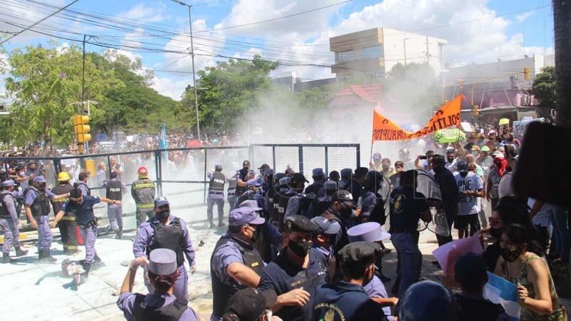 """Fernández, sobre Formosa: """"Nos preocupa la violencia institucional"""" - Télam - Agencia Nacional de Noticias"""