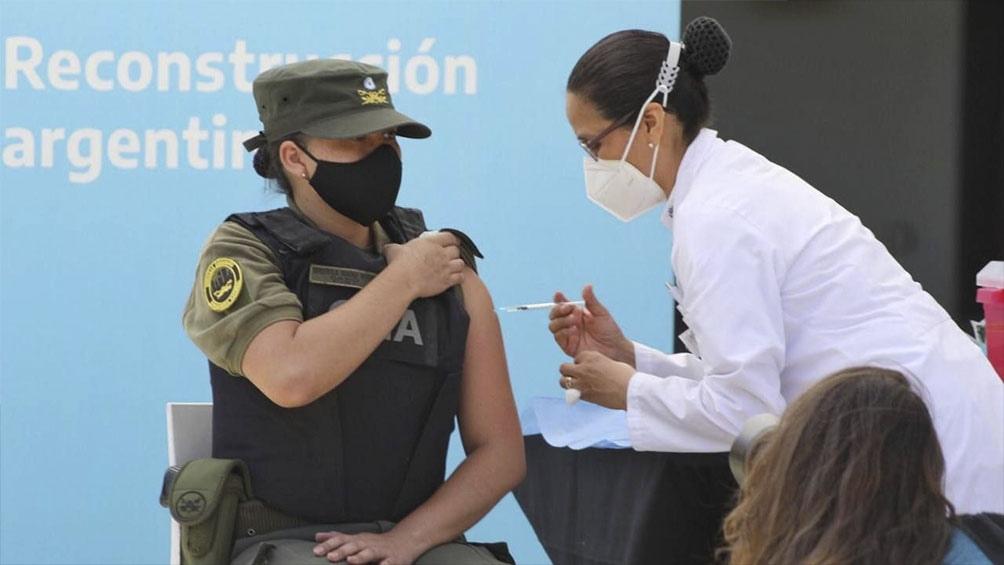 La campaña de vacunación en las fuerzas de seguridad federales comenzó en diciembre de 2020.