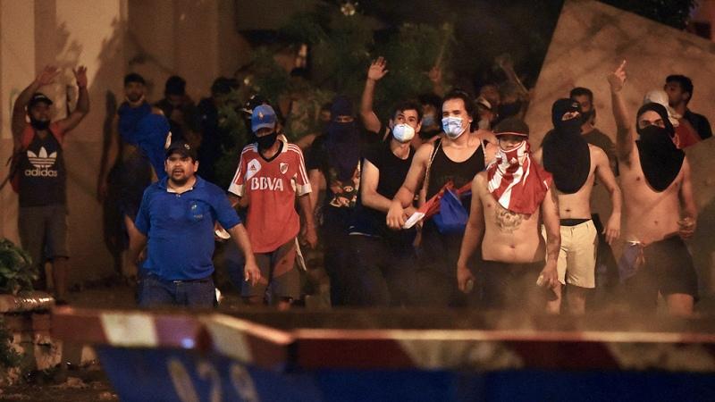 El presidente de Paraguay reformó su gabinete tras masivas protestas  - Télam - Agencia Nacional de Noticias