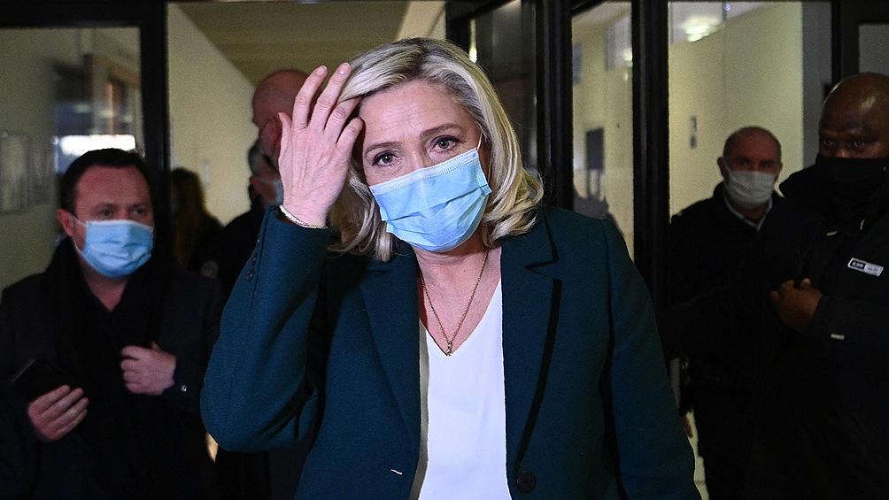 Marine Le Pen esperaba mejores resultados para su formación