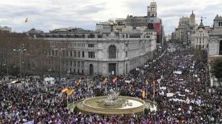 España: por el coronavirus la Justicia prohibió las manifestaciones por el 8M en Madrid