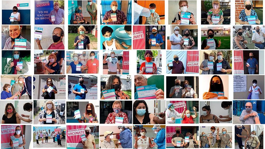Docentes y adultos mayores protagonizan la campaña de inmunización contra el coronavirus en la Argentina