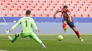 El Atlético y el Real empataron 1 a 1 en el clásico de Madrid