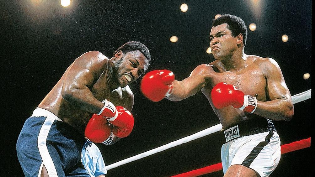 Frazier y Alí 15 dramáticos asaltos sobre el ring del legendario Madison Square Garden de Nueva York.