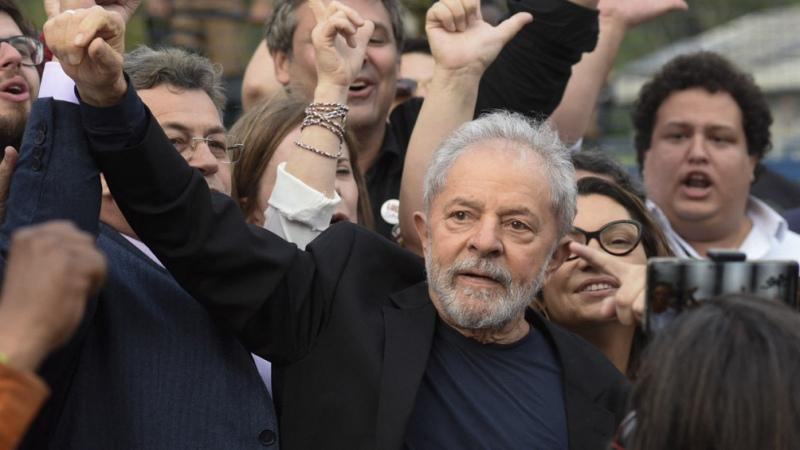 """Lula: """"Seré candidato si es necesario para ganarle a un fascista como Bolsonaro"""""""