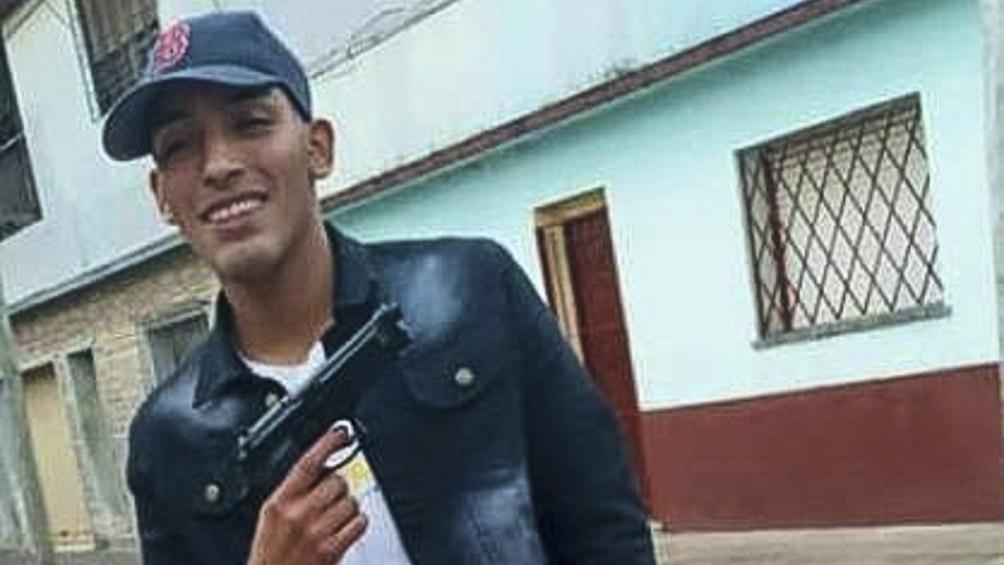 Leandro Maldonado, delincuente fallecido por herida de arma blanca por una de las víctimas del robo.