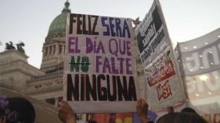 Marchas multitudinarias en todo el país contra la violencia de género
