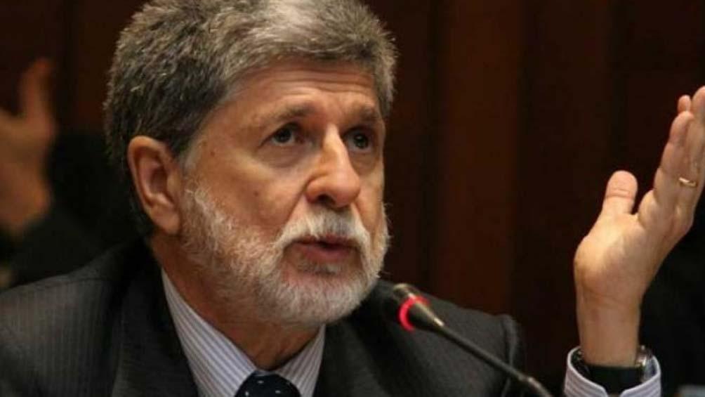 """Para Amorim """"No hay nadie con las posibilidades que tiene Lula""""."""