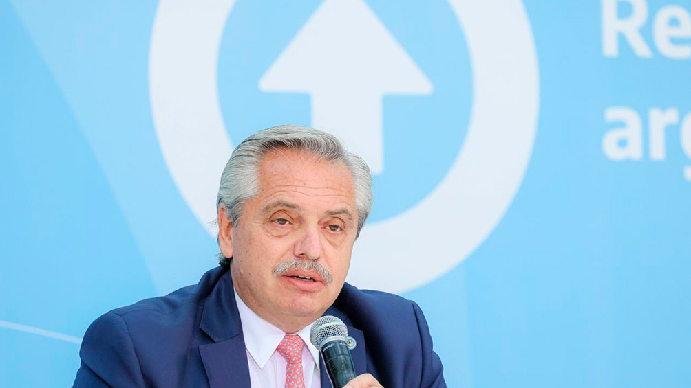Alberto Fernández encabeza en la Casa Rosada una nueva reunión del Comité de Vacunación contra el coronavirus.