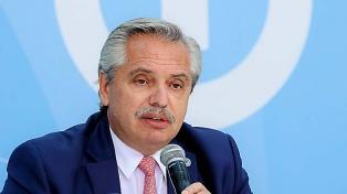 Se suspende la visita de Alberto Fernández a Morón por cuestiones climáticas