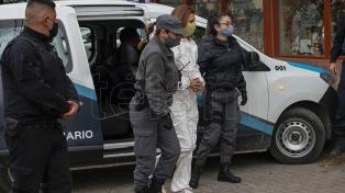 Realizaron la reconstrucción del crimen del comerciante Maillo y secuestraron dos armas en el lugar