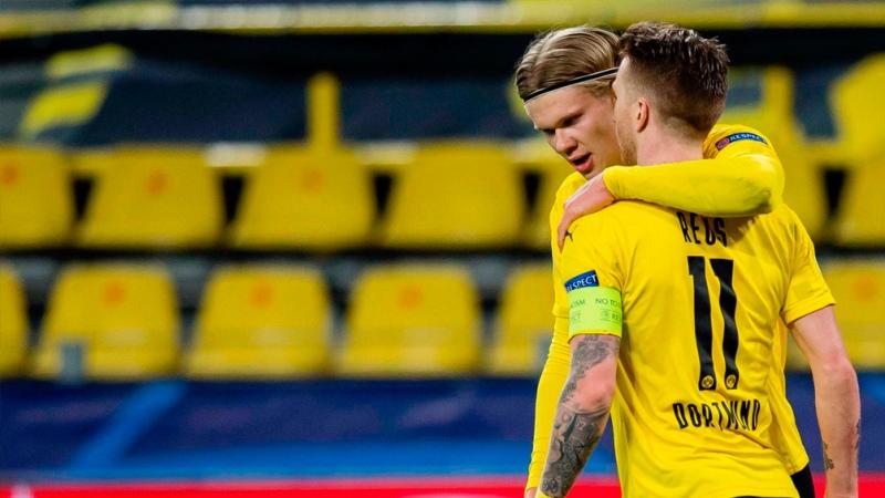 Sevilla igualó ante el Dortmund, pero Haaland hizo la diferencia
