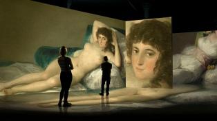La obra de Goya recorrerá museos de todo el mundo como experiencia inmersiva