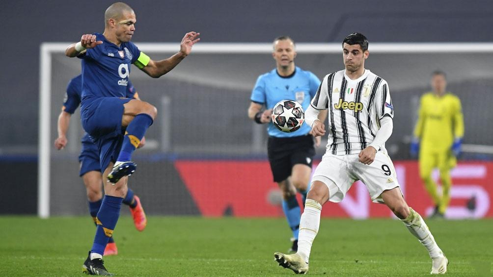 Porto consiguió anotar en el suplementario y le ganó la serie a Juventus (Foto: @JuventusFC)