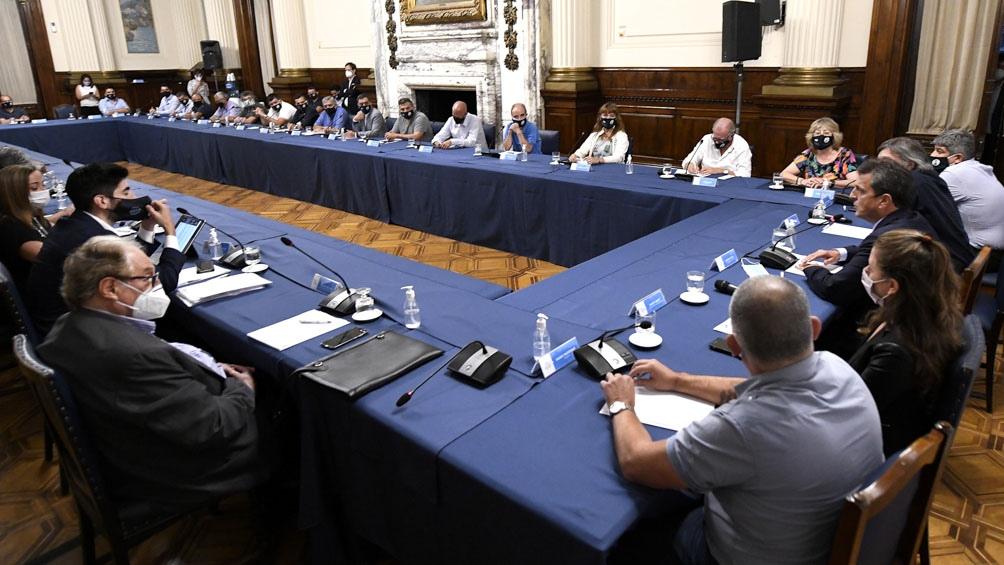 Sigue en Diputados la ronda de consultas por la reforma del impuesto a las Ganancias.