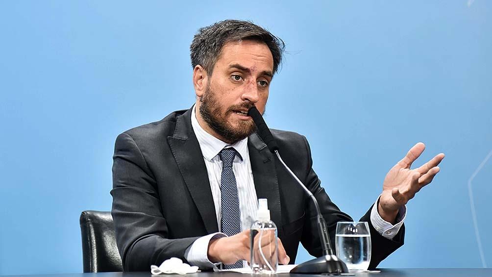Cabandié realizó su propuesta en la Reunión Ministerial Conjunta del G20