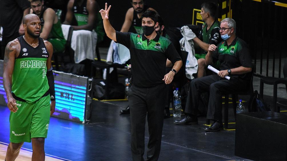 Villagrán, una de las grandes apariciones entre los entrenadores de LNB (Foto: LaLiga)