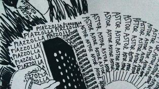 En el centenario de su nacimiento, la poesía visual también homenajea a Piazzolla
