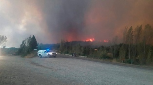 "El gobernador de Chubut declaró el ""estado de desastre ígneo"" en la Comarca Andina"