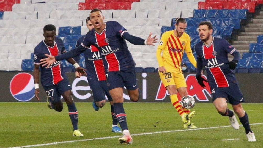 Barcelona empató con PSG y quedó eliminado de la Champions