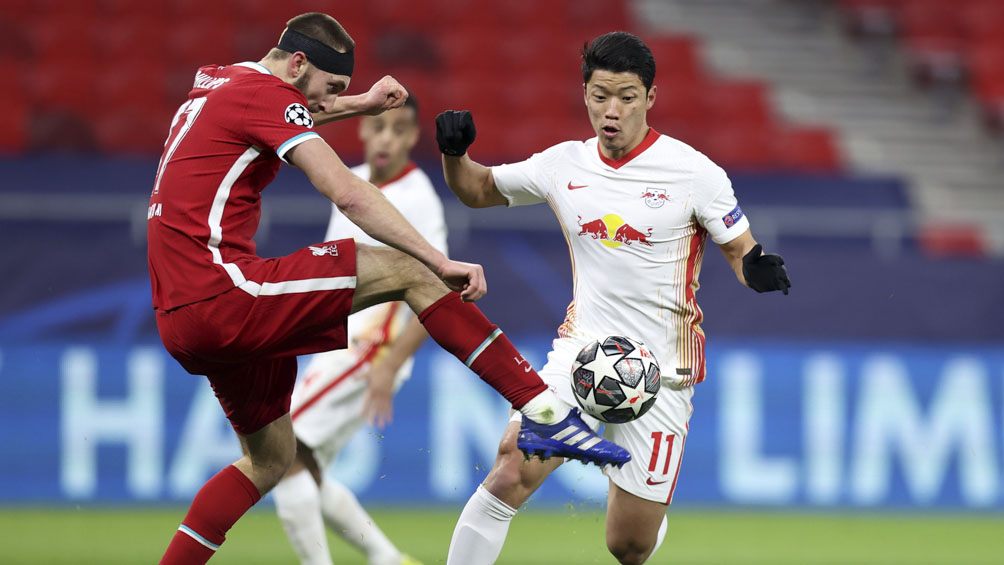 Liverpool, a paso firme, venció al Leipzig en Hungría