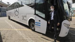 """La UTA despidió a Mario Meoni con un reconocimiento a su """"esfuerzo y compromiso"""""""