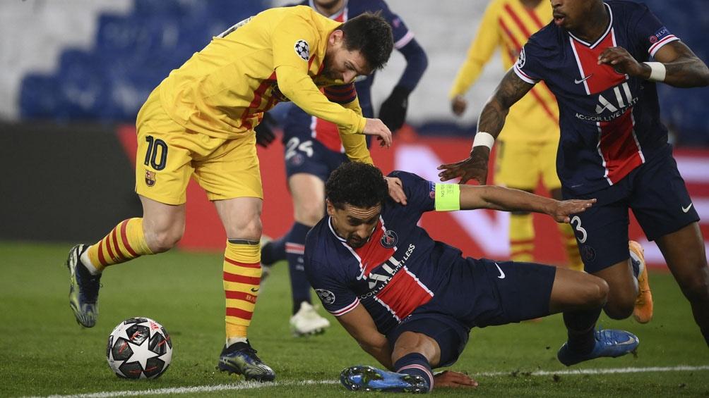 Messi  y Barcelona quedaron fuera de la Champions.