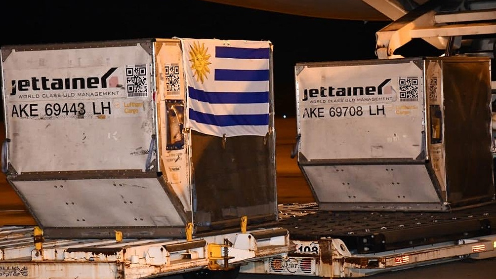Es la segunda donación que realiza el gobierno uruguayo hacia paraguay