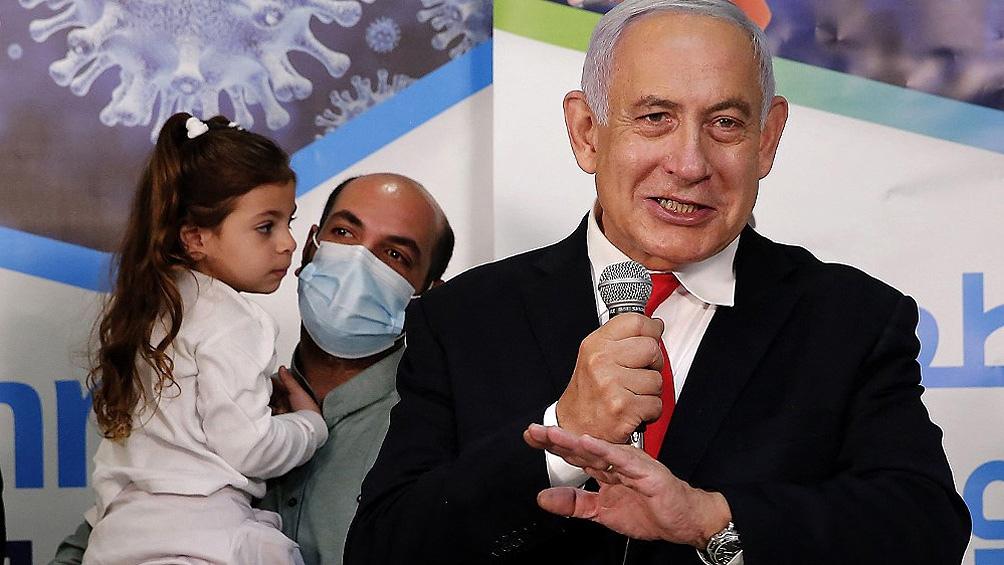 Benjamín Netanyahu había anticipado que los niños pronto comenzarían a recibir vacunas