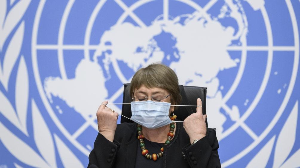 Bachelet en contra del racismo.