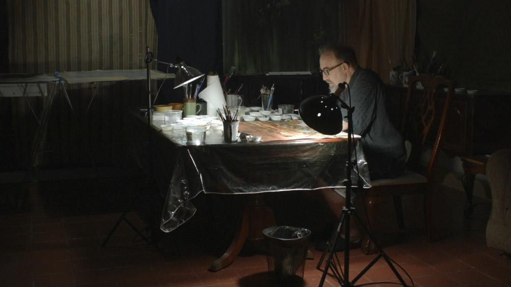 """""""Painting with John"""", una serie de seis capítulos lanzada en enero de este año, sin guión, creada y dirigida por el músico de culto, actor, director y pintor John Lurie."""