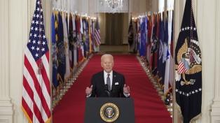 Biden pidió al Congreso medidas para limitar la tenencia de armas en Estados Unidos