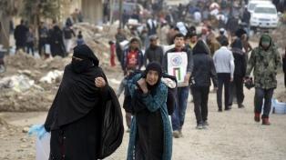 A diez años del conflicto en Siria, la UE aseguró que �no apartará la mirada�